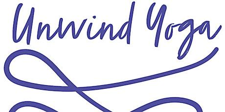 Unwind Yoga: Weekly Drop-in Yoga Class tickets