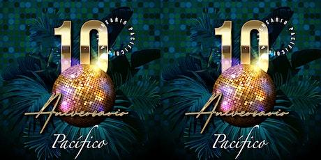 Pre Aniversario 10 años Pacífico Antojería del mar boletos