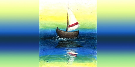 60min Learn to Draw a Scenery: Boat @11AM  (Ages 6+) tickets
