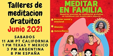 Free Online Meditation for Spanish speaking Children in Texas (3 Sessions) tickets
