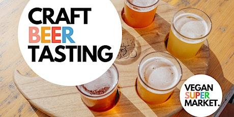 Craft Beer Tasting at Vegan Market tickets