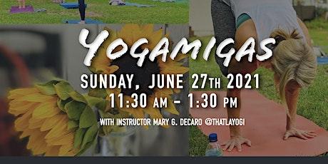 Sunday AM Backyard Yoga Session - June 27 2021: tickets