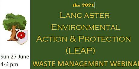 LEAP Waste Management Webinar tickets