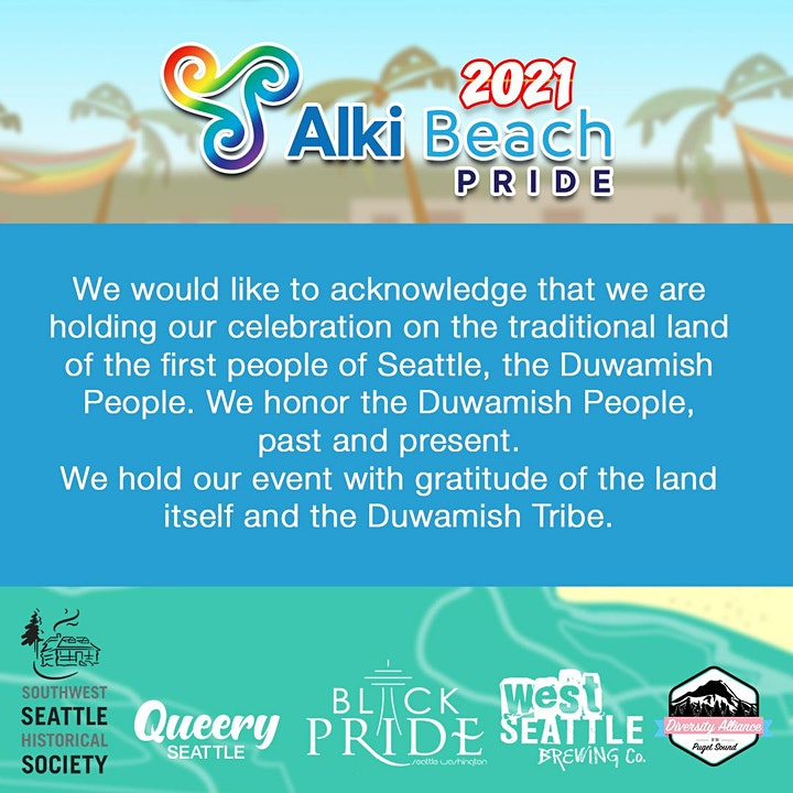 Alki Beach Pride image