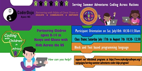 Serving Summer Adventures by Empowering in STEM through Shared Values tickets