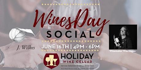 #WINEsday   J. Wilkes Wine & Winemaker Wes Hagen tickets