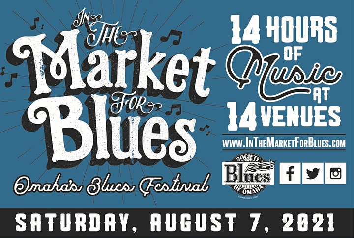 In the Market for Blues - 8/7/2021 - 14 Live Music Venues in Downtown Omaha image