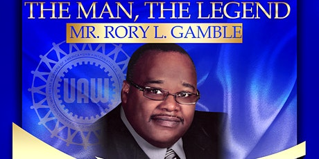 A Dinner Honoring and Saluting: The Man, The Legend Mr. Rory L. Gamble tickets