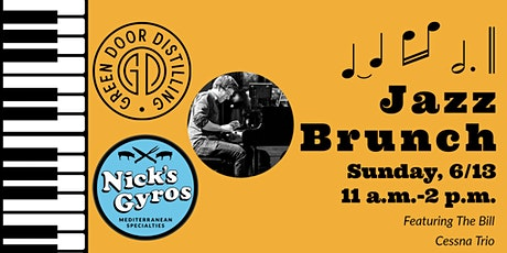 Jazz Brunch @ Green Door 6/13/21 tickets