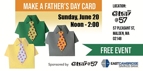Make a Father's Day Card! tickets