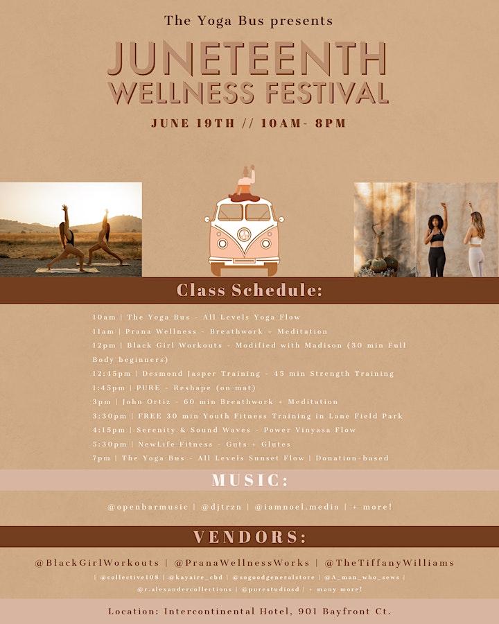 Juneteenth Wellness Festival image