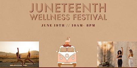 Juneteenth Wellness Festival tickets