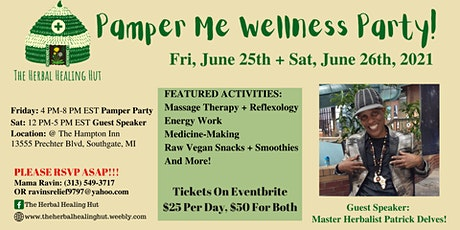Pamper Me Wellness Party! tickets