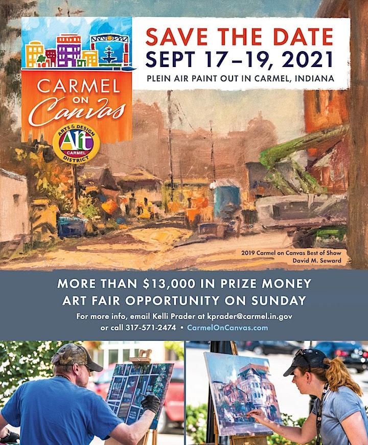 City of Carmel - Carmel on Canvas 2021 image