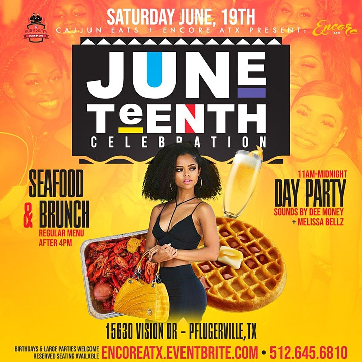Juneteenth Brunch & Day Party | 6/19 image