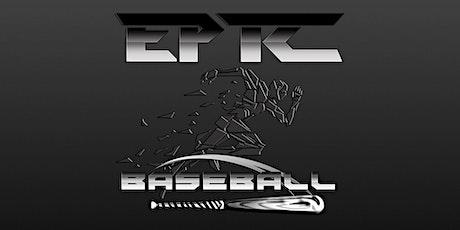 EPTC Baseball Tryouts - 2021-2022 Season tickets