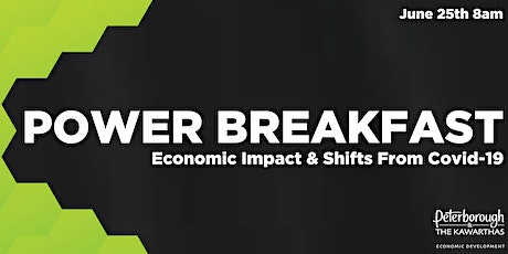 Power Breakfast: An Update, Economic Impact & Shifts from COVID-19 tickets