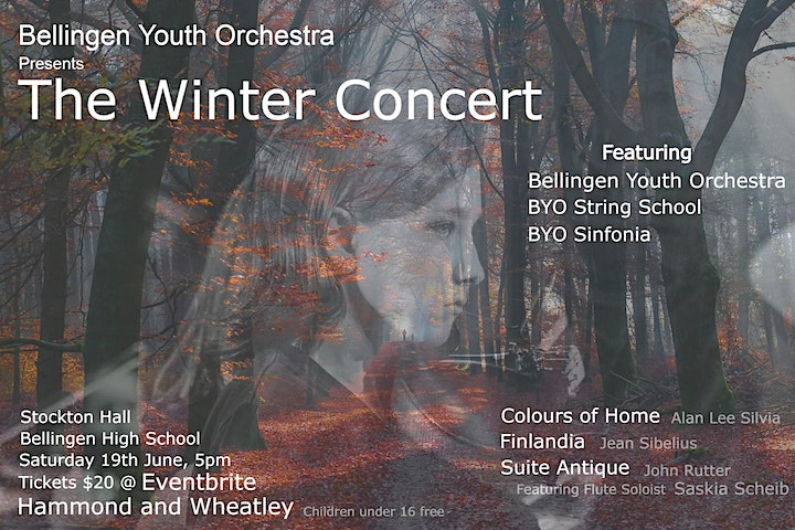 Bellingen Youth Orchestra presents 'The Winter Concert'. image