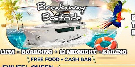 Breakaway Boat Ride 2021 - SOCA-DANCEHALL-REGGAE-AFROBEATS Ride tickets