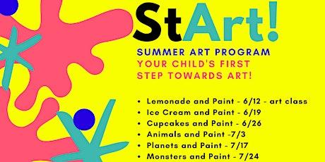 SmART - Summer Art Program  at Baltimore's best art gallery! tickets