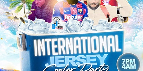 International Jersey Cooler Party boletos