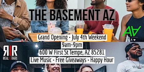 The Basement AZ Grand Opening tickets