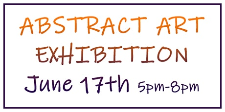 Abstract Art Exhibition tickets