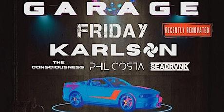 Garage Vibrant Fridays tickets
