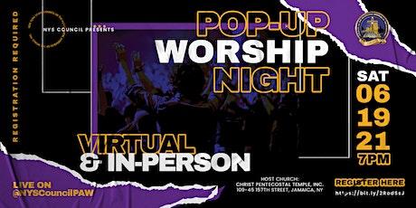 Pop-Up Night Of Worship tickets
