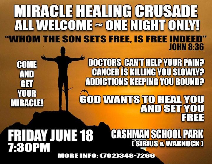 Miracle Healing Crusade image