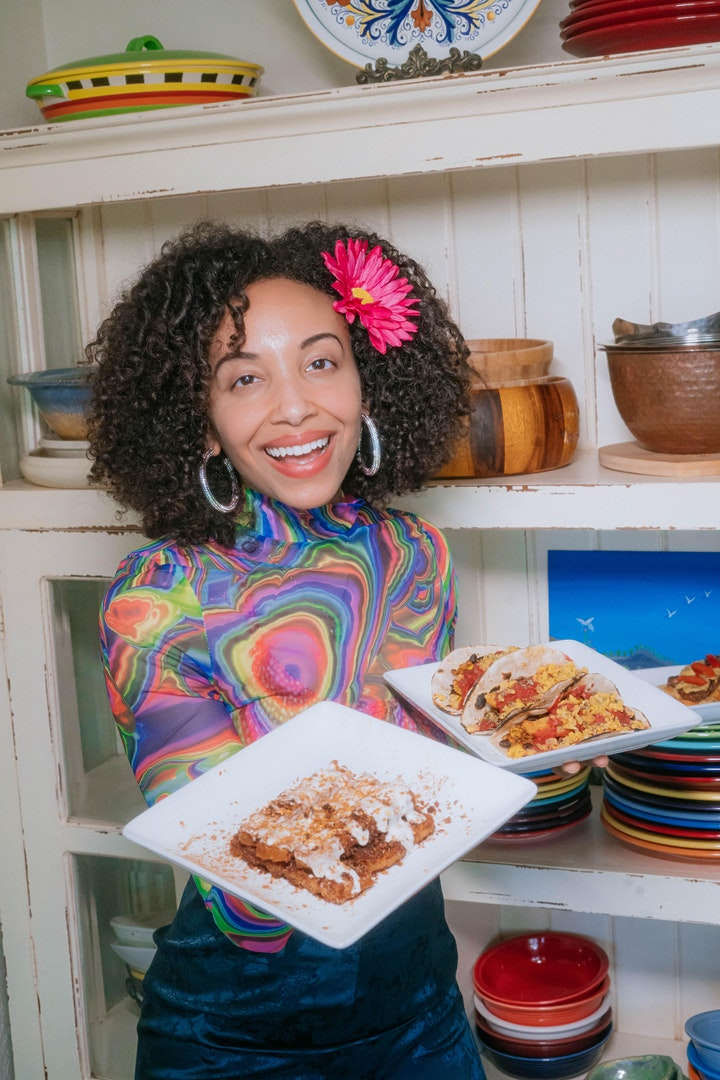 LIVE Musical Cooking Class with Gabrielle Reyes - One Great Vegan image