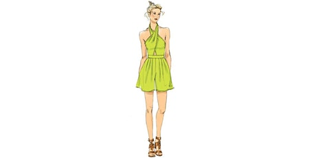 60min Fashion Sketching  Lesson - Green Dress @3PM (Ages 7+) tickets