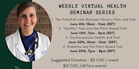 Weekly Health Seminars with Dr. Jennifer Purdy tickets
