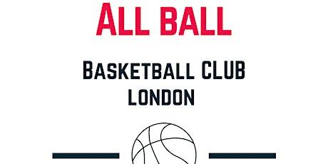 Allball Basketball Club Training tickets
