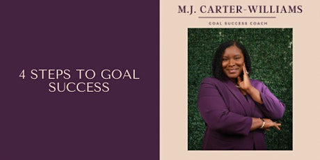 4 Steps to Goal Success tickets