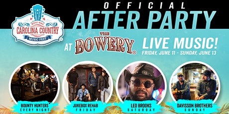 CCMF After Party Presented By The Bowery tickets