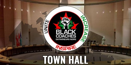 Black Coaches Canada Winter 2021 Town Hall Meeting billets