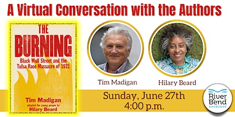 Community Discussion: The Burning with Authors Tim Madigan & Hilary Beard tickets