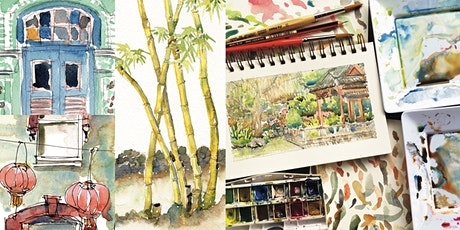 Travel Sketching: South-East Asia Watercolour Workshop tickets