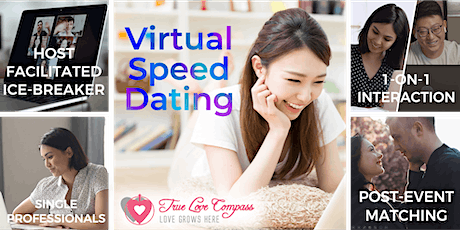 SG-based Virtual Speed Dating for Single Professionals | 25 to 37 Age Group tickets