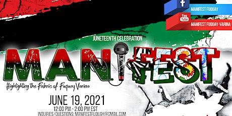 M.A.N.iFEST (Music, Art, & Networking) tickets