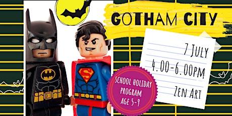 GOTHAM CITY - school holidays fun workshop tickets