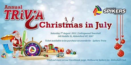 Spikers Trivia - Christmas in July tickets