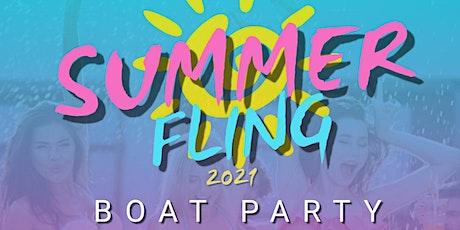 Summer Fling Boat Party tickets