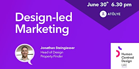 Design-led Marketing with the Human Centred Design UAE Meetup tickets