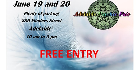 Adelaide Psychic Fair tickets
