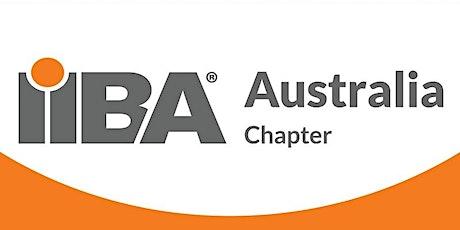 IIBA Australia: Melbourne Branch - 2021 Agile Extensions Study Group tickets