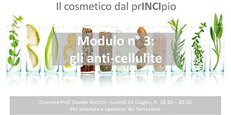 Il cosmetico dal prINCIpio: gli anti-cellulite biglietti