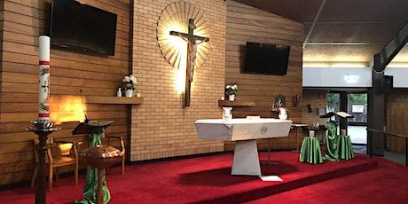 The Thirteenth  Sunday of Ordinary Time  8:30 AM Mass tickets