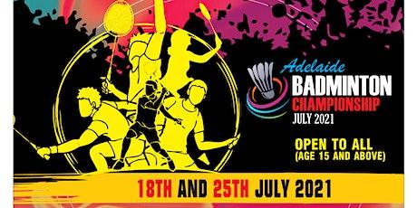 Badminton Tournament - Mens Doubles / Womens Doubles / Mixed Doubles tickets